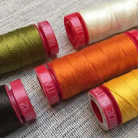 Aurifil 12wt Lana Wool Thread