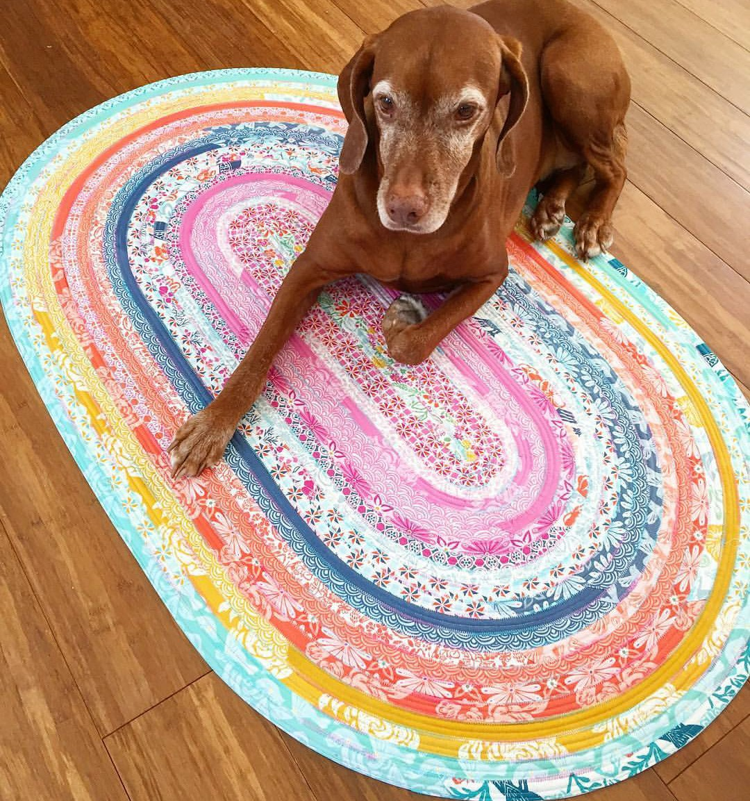 Jelly Roll Rug Pattern The Fabric Contessa