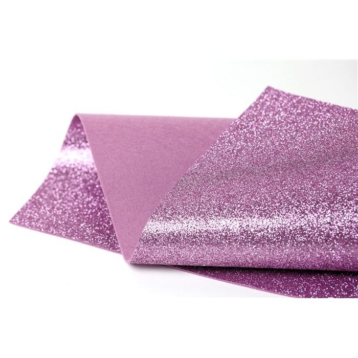 Wool Felt Wool Felt Glitter Fine Glitter BLUSH Glitter Felt Glitter Felt