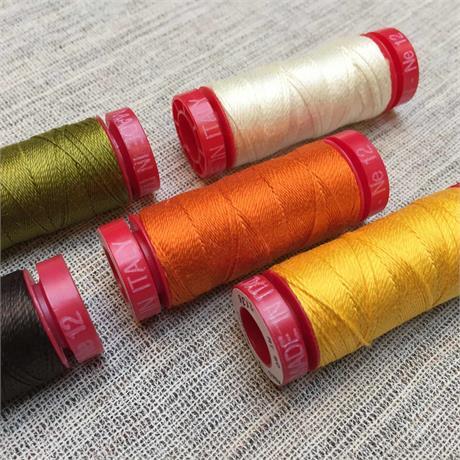 Aurifil 12wt Lana Wool Thread